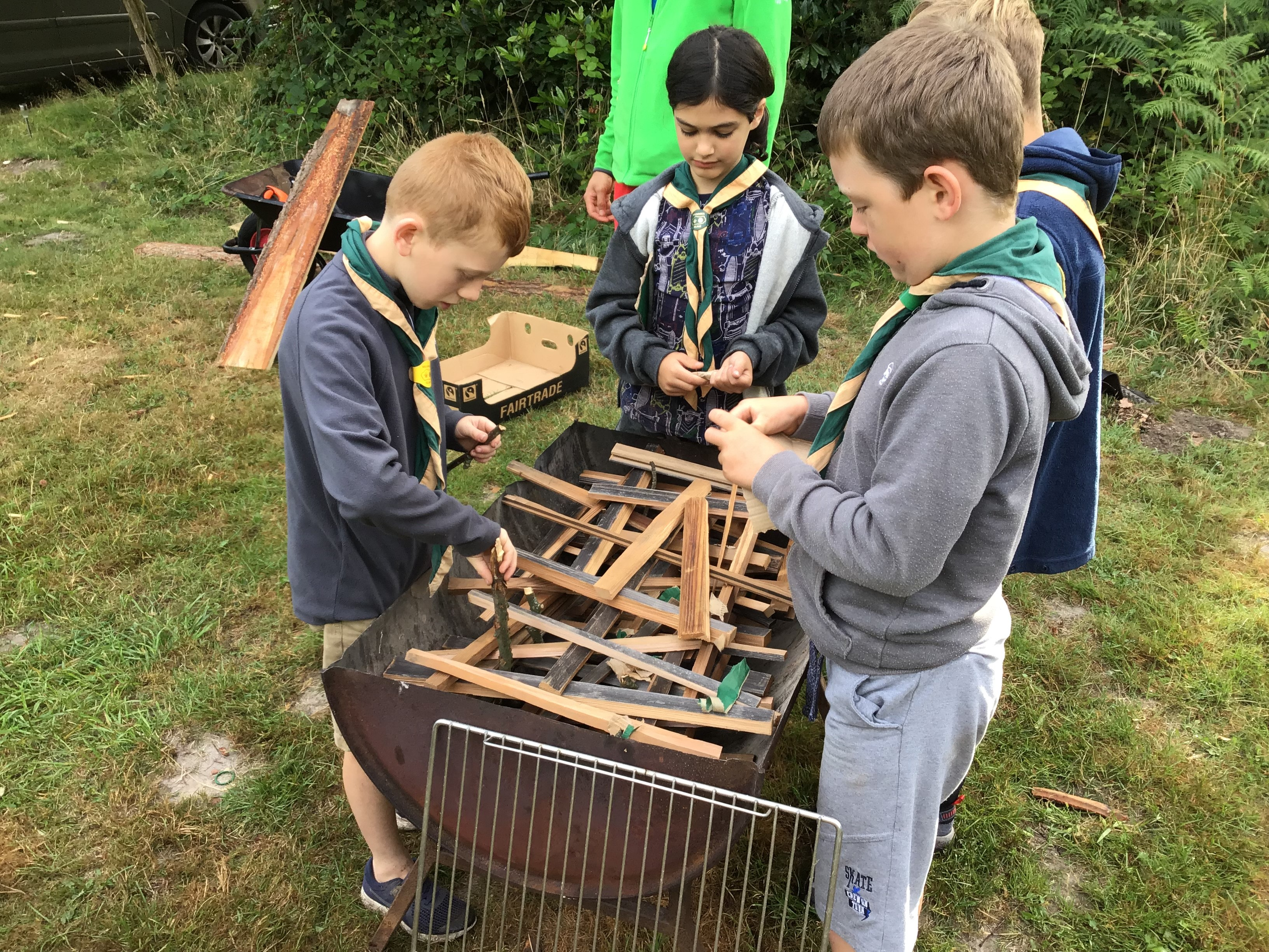 1st Woodmansterne Cub Camp 2019